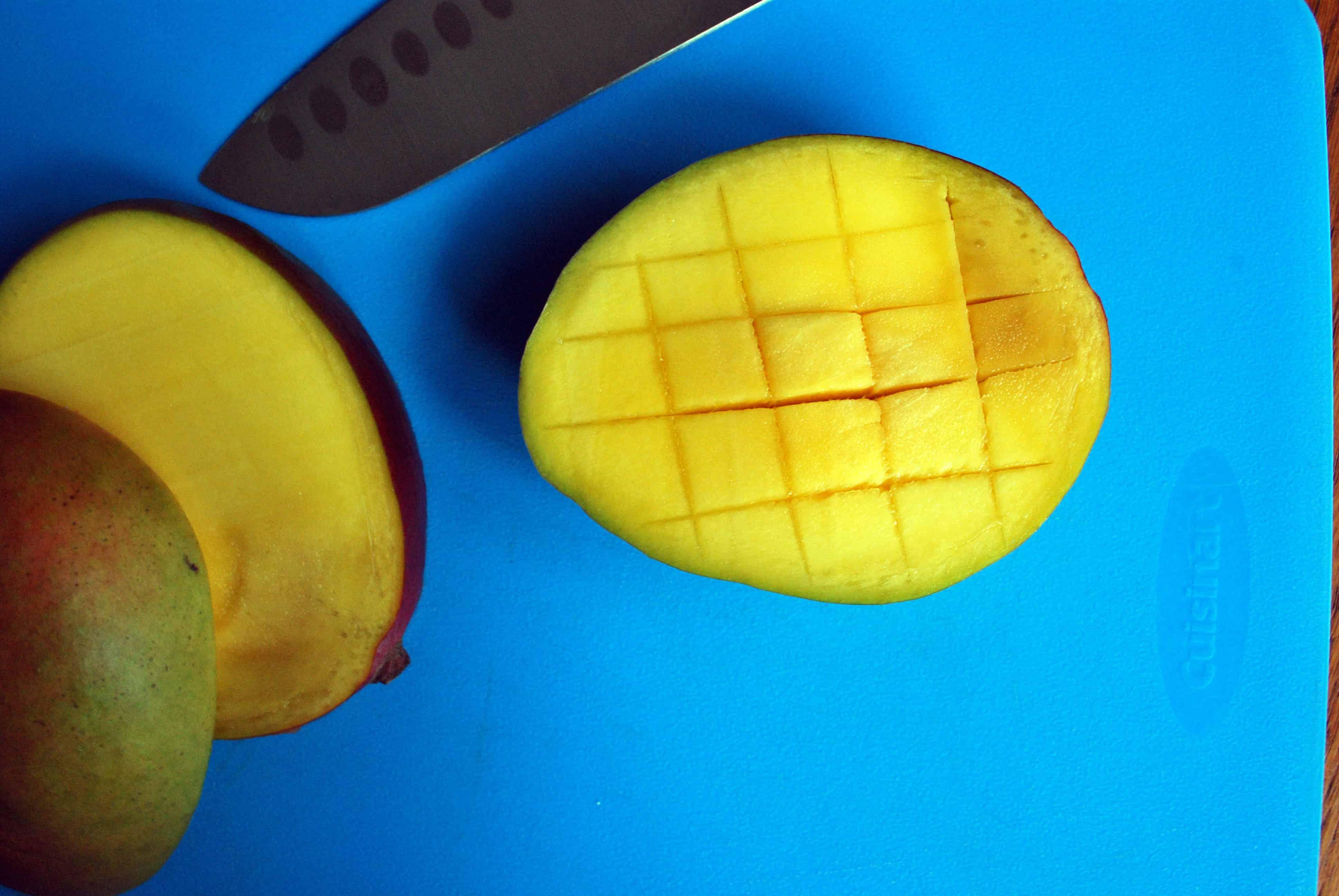 Scored Mango