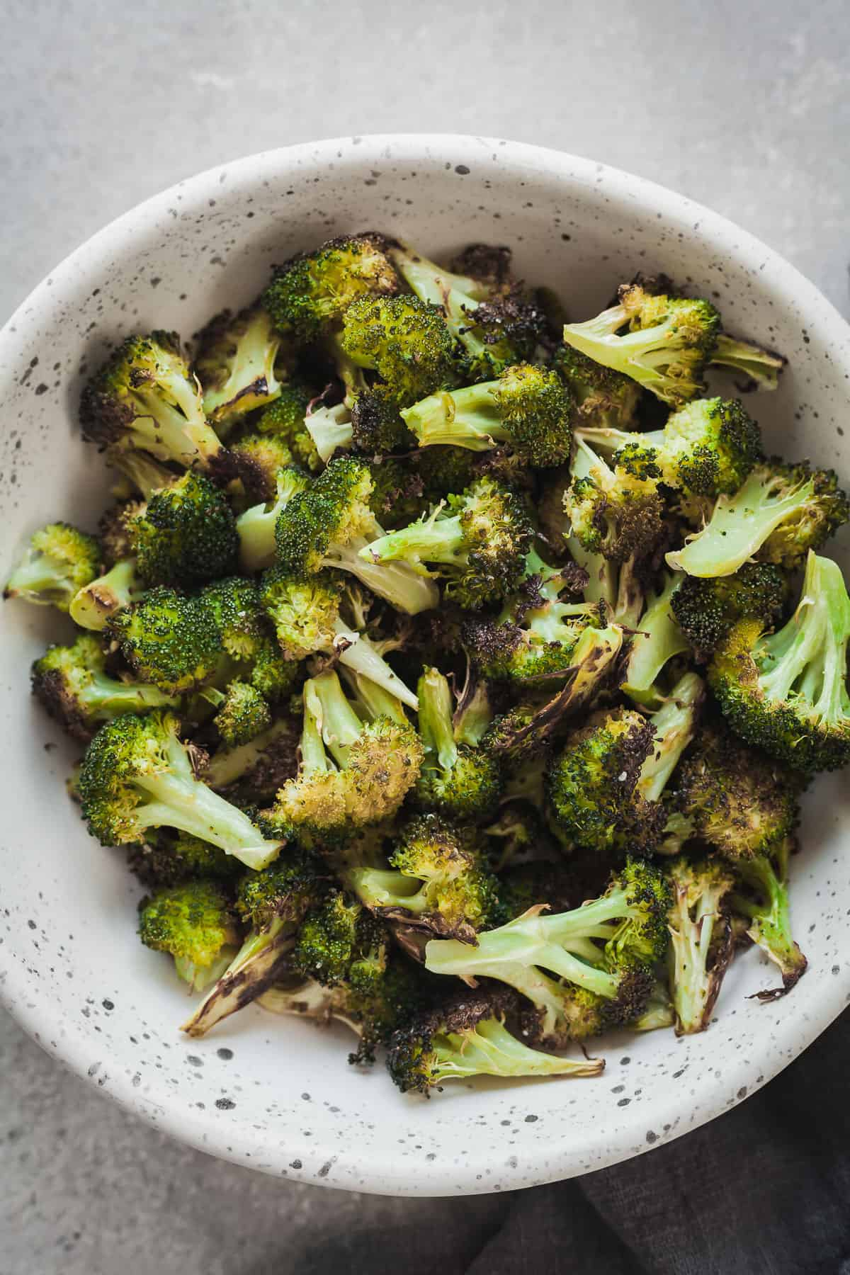 The Best Oven Roasted Broccoli Vegan The Live In Kitchen