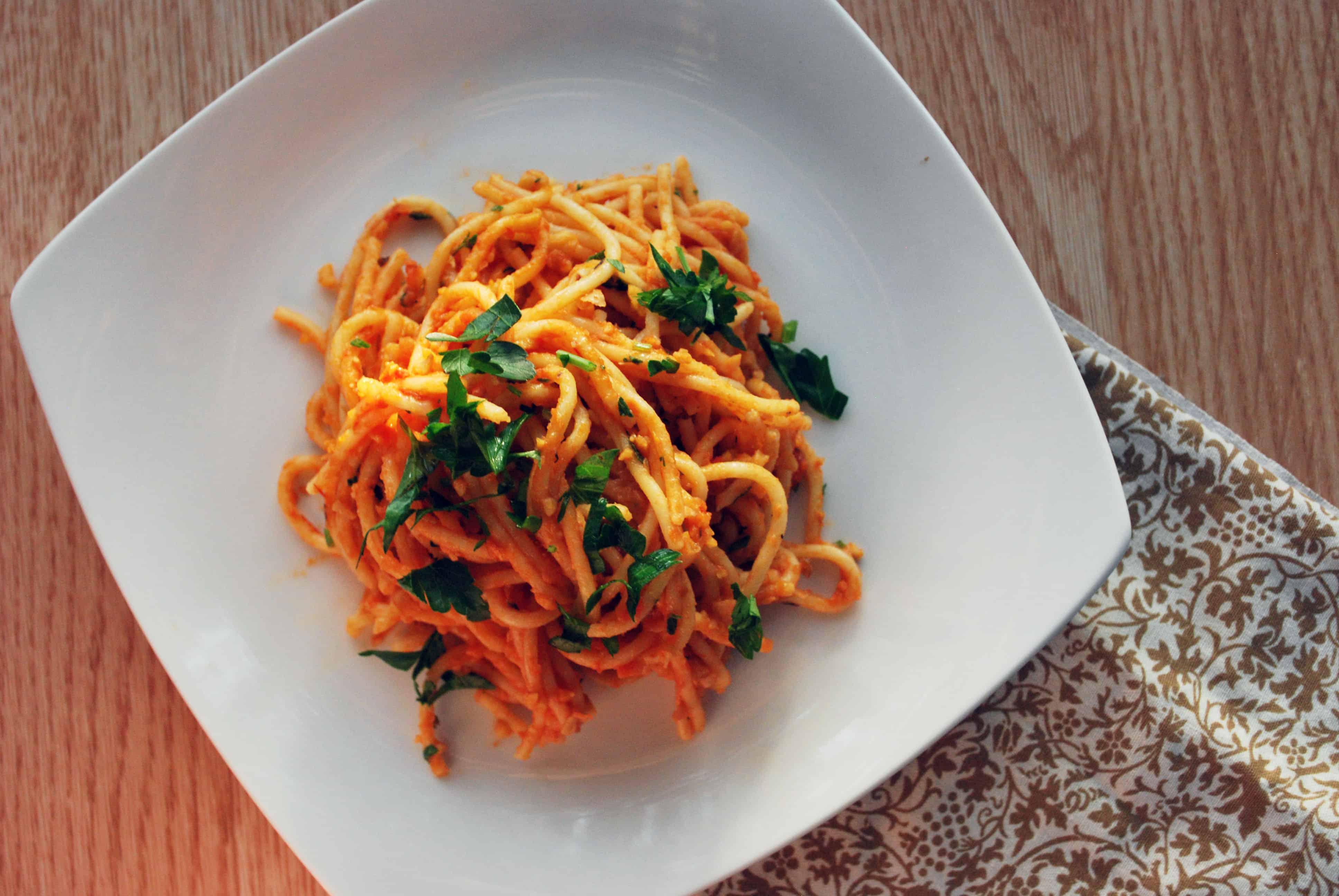 Spaghetti alla Ceci