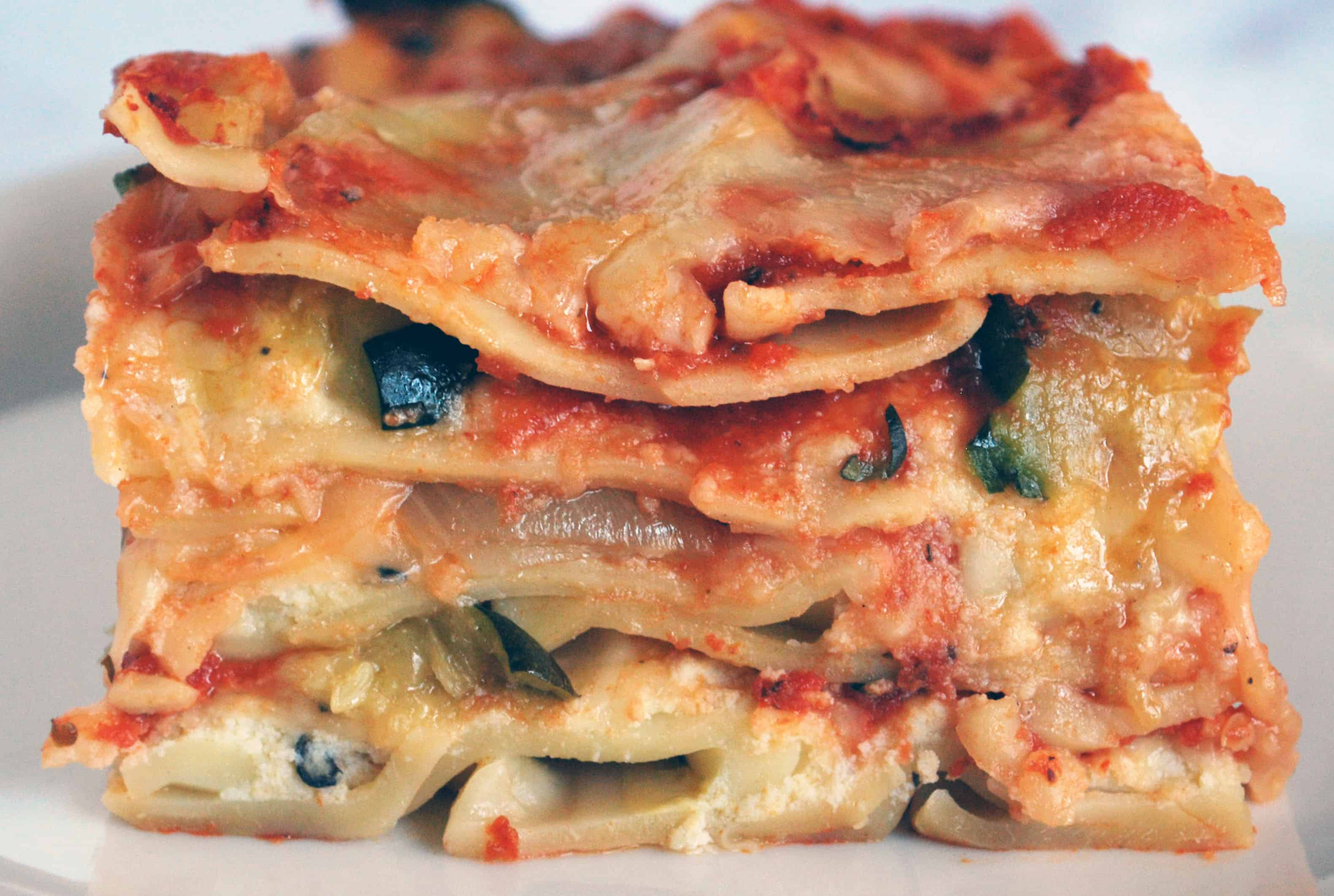Roased Vegetable Lasagna