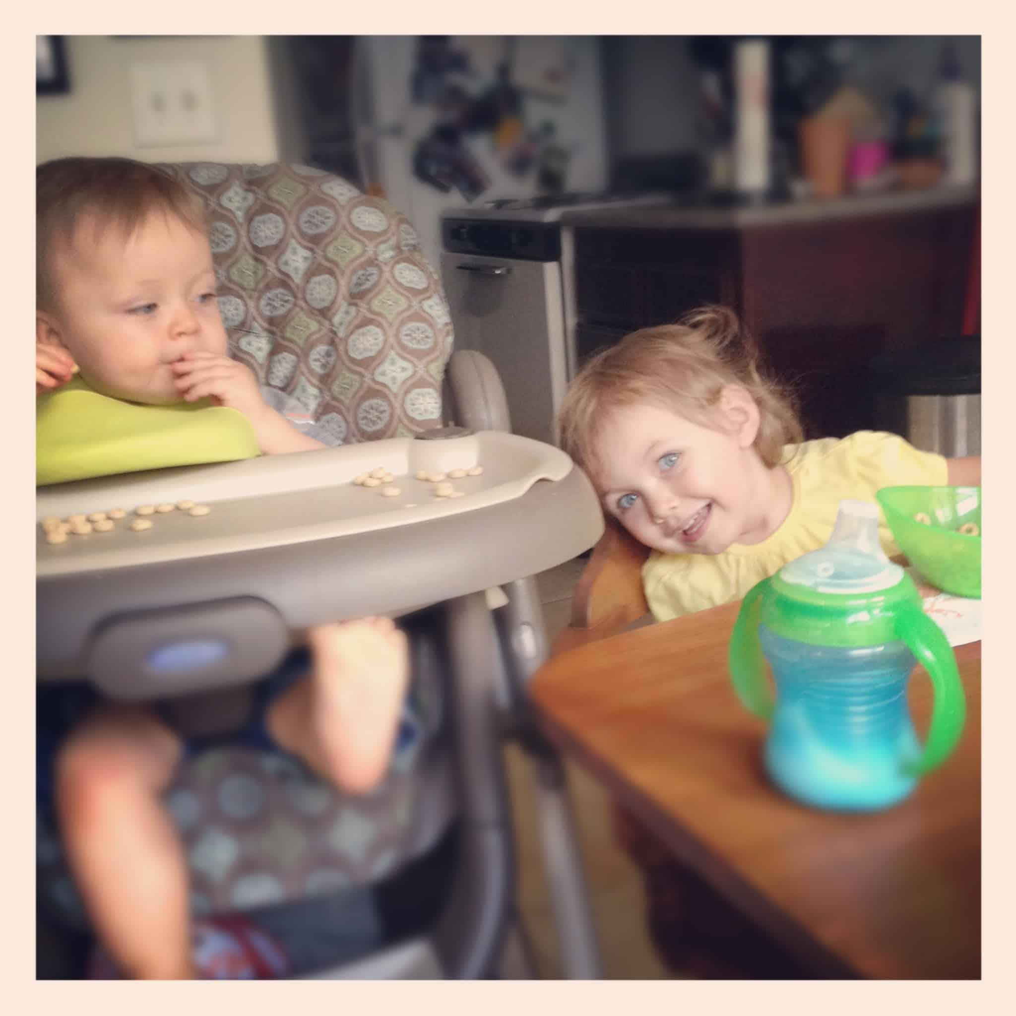 Breakfast kids