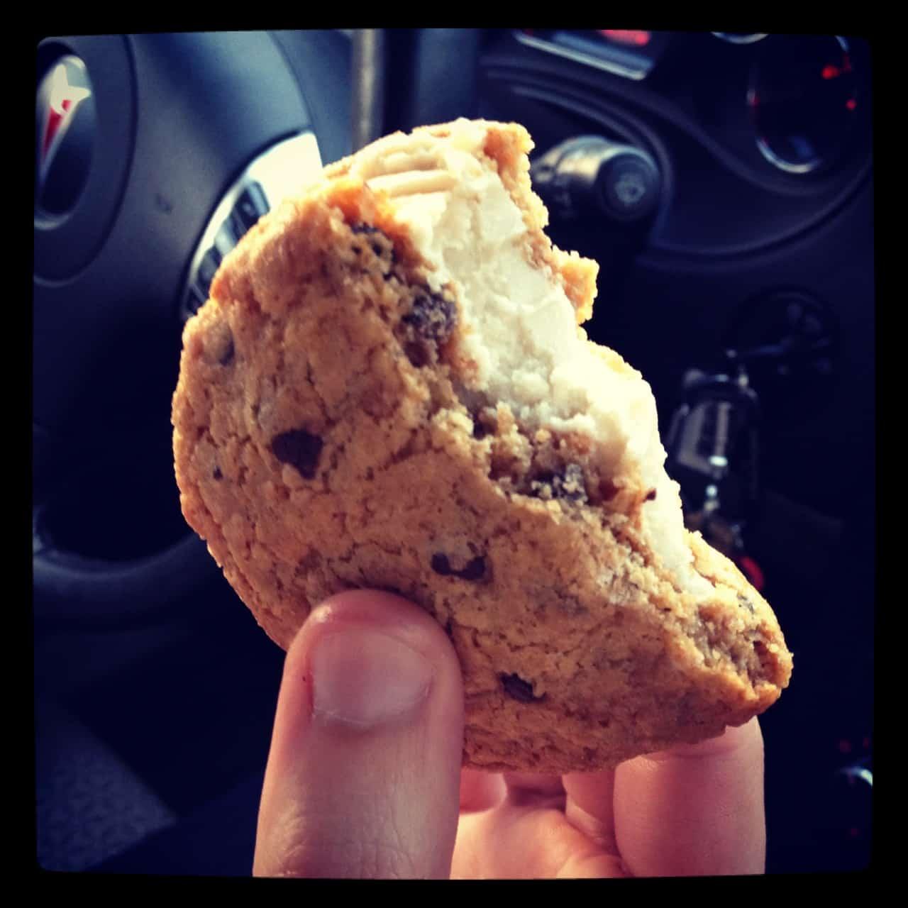Babycakes Chocolate Chip Cookie Sammy