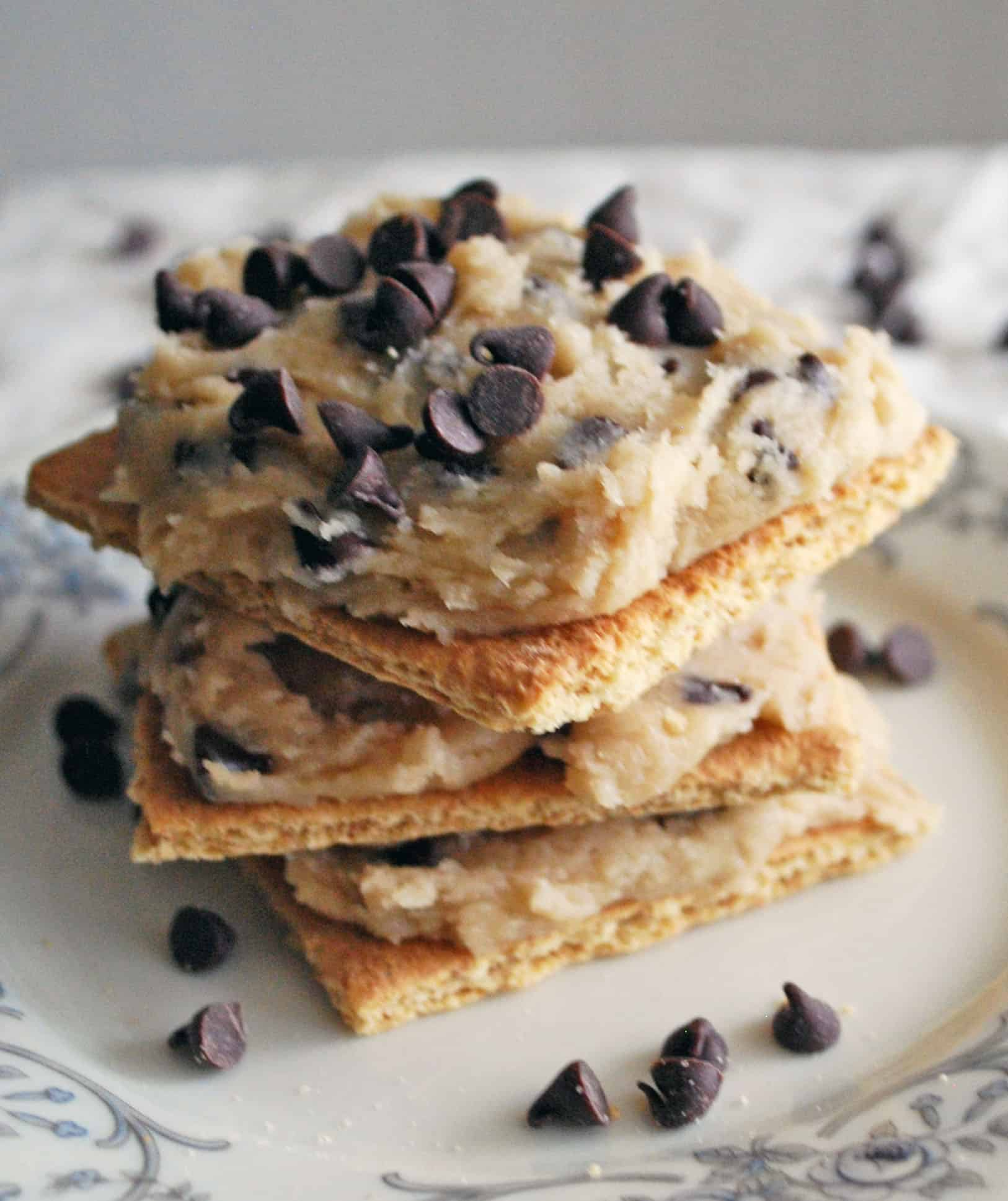Chocolate Chip Cookie Dough Grahams