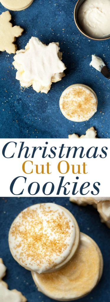 Christmas Cut Out Cookies - It's not Christmas until you make these cut out sugar cookies! Paired with the perfect icing that forms a crust over the top but stays creamy and sweet underneath. These are the best Christmas cookies! Full recipe at theliveinkitchen.com @liveinkitchen