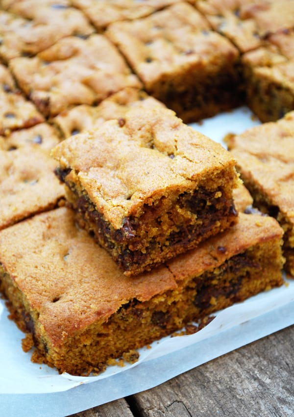 Pumpkin Chocolate Chip Bars and Homemade Pumpkin Pie Spice