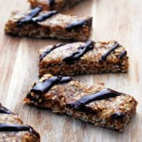 Chewy Granola Bars - Just like your favorite boxed treat! Easy and healthy. #vegan #snacks