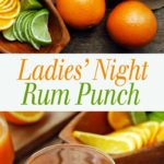 collage image for rum punch