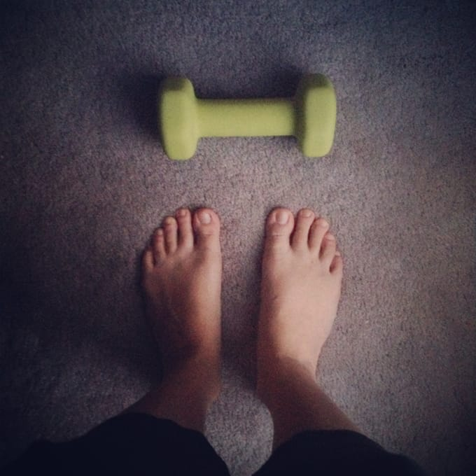 Slice of Life - How I've been trying to exercise more and #lovehealthyme