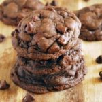 Whole Wheat Chocolate Fudge Cookies - So chocolatey! Full recipe at www.theliveinkitchen.com
