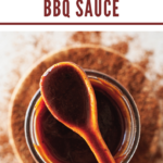 pinterest image for spicy barbecue sauce