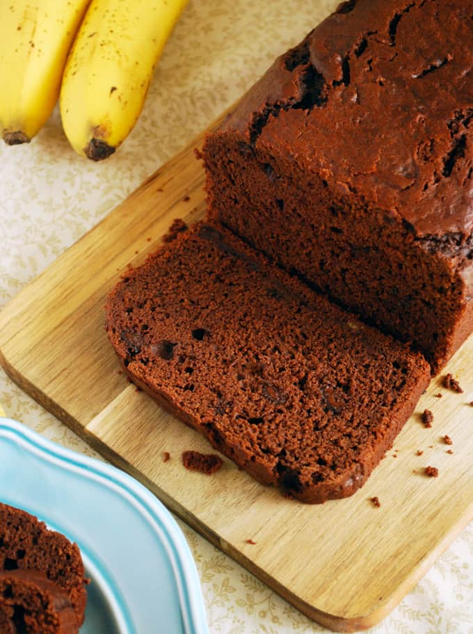 Double Chocolate Banana Bread // The Live-In Kitchen