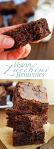 Vegan Zucchini Brownies - This is the texture I've always been looking for in brownies! Soft, thick, and vegan too! theliveinkitchen.com