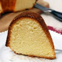 Lemon Pound Cake - Simple, sweet, and completely versatile! // The Live-In Kitchen