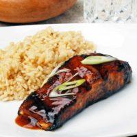 Grilled Teriyaki Salmon - Sooooo good! | theliveinkitchen.com