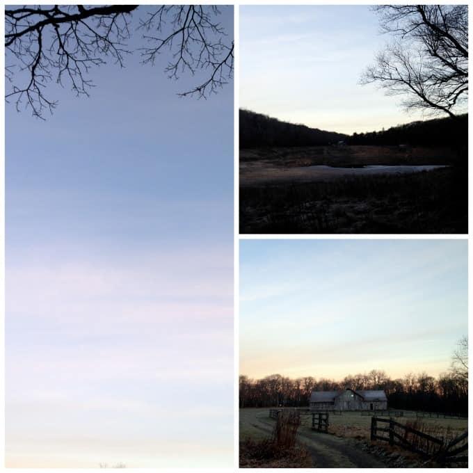 The sunrise over MixedCon