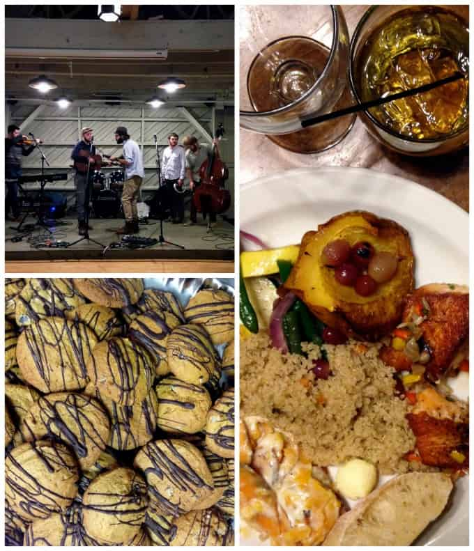 Good food and music at MixedCon