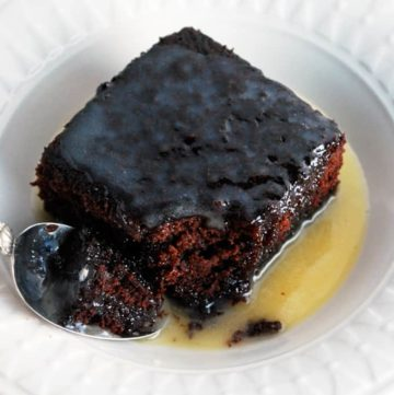 Chocolate Cake with Warm Butter Sauce - The ultimate treat!