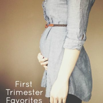First Trimester Favorites from The Live-In Kitchen. Three of them are FREE!
