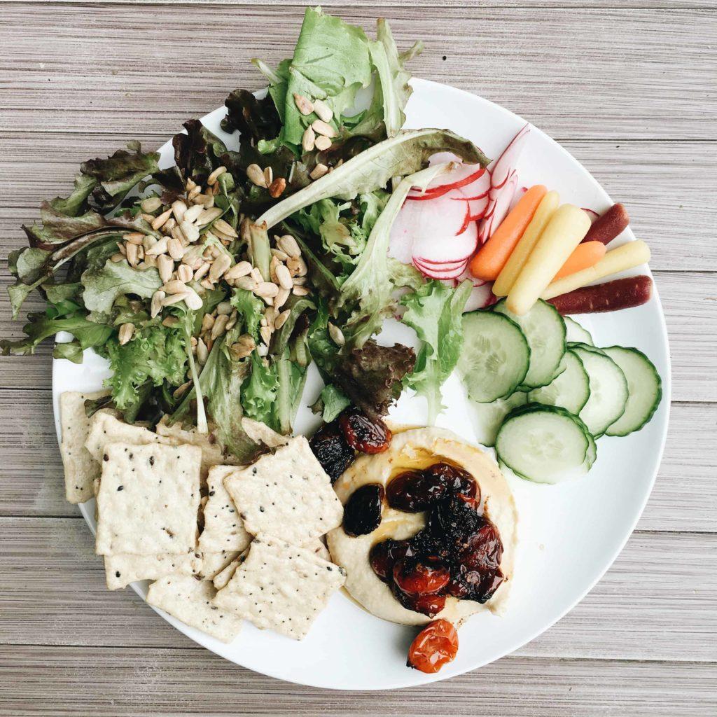 Gluten free, vegan meal
