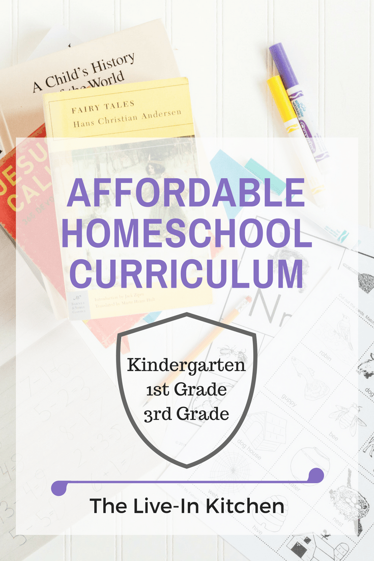 image of affordable homeschool curriculum