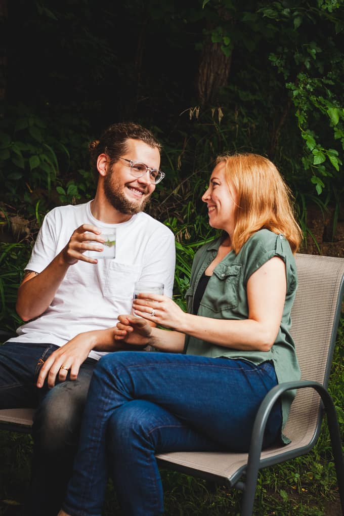 An Organic Date Night at Home - #datenight #datenightideas #datenightformarriedcouples