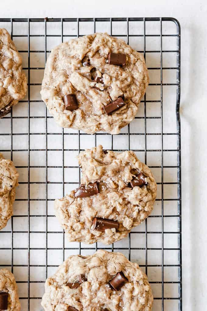 image of cookies on cooking rack