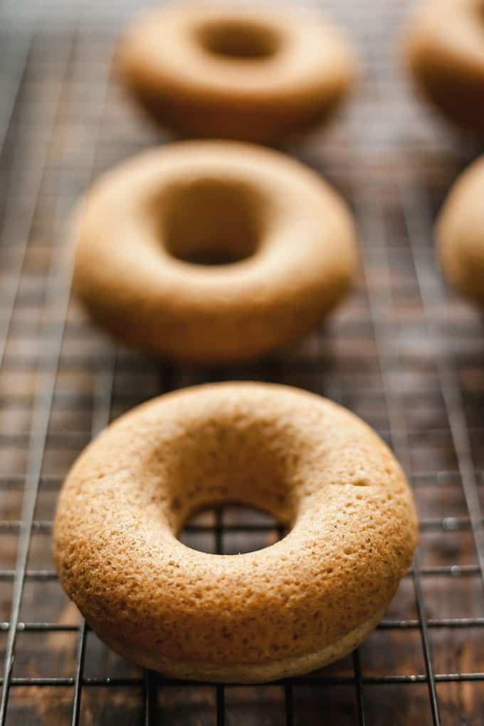 Chai Baked Donuts
