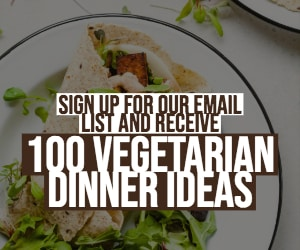 100 Vegetarian Dinner Ideas