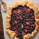pinterest image for Brienne of Tart (Mixed berry galette)