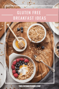 pinterest image for gluten free breakfast idea post