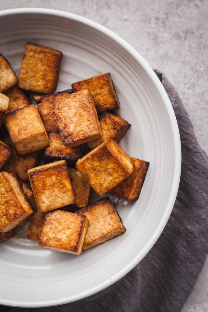 the best tofu in a bowl