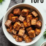 balsamic tofu pinterest image