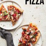 pinterest image for greek pizza