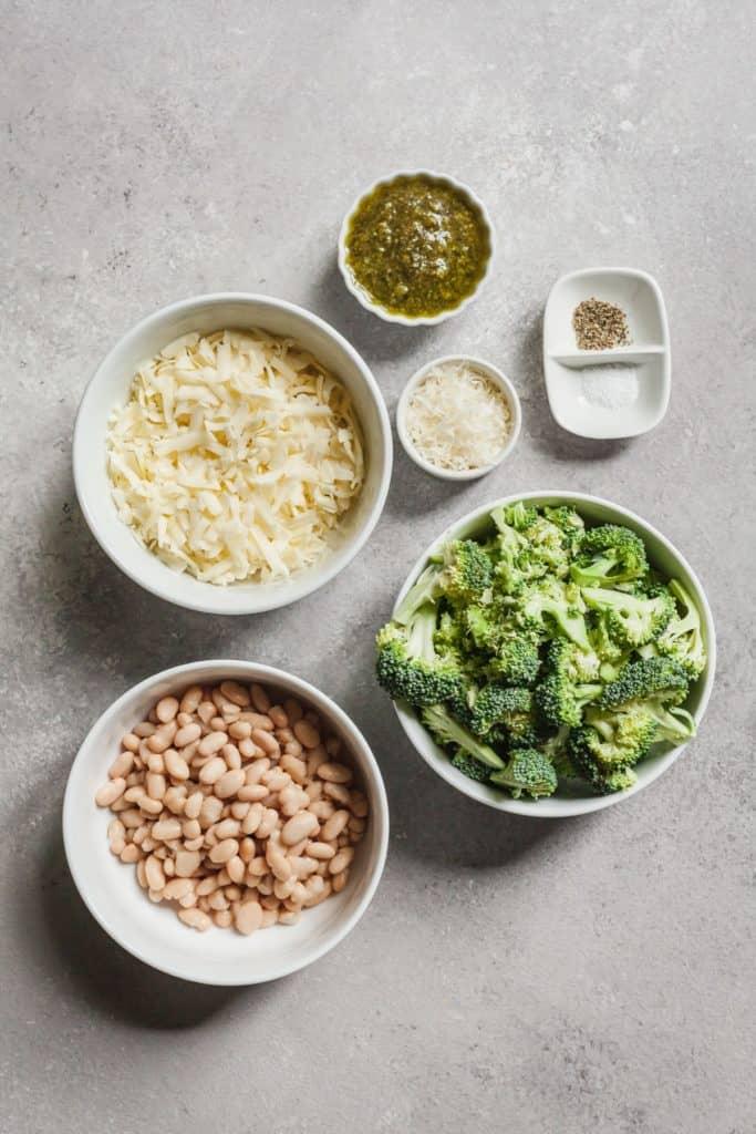 ingredients for broccoli quinoa casserole