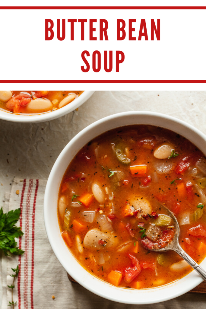 easy butter bean soup
