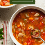 vegetarian butter bean soup
