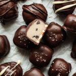 featured image for pretzel cookie dough truffles