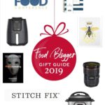 pinterest image for food blogger gift guide