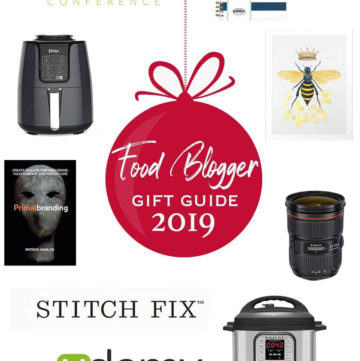 food blogger gift guide 2019