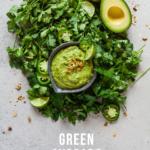green avocado sauce