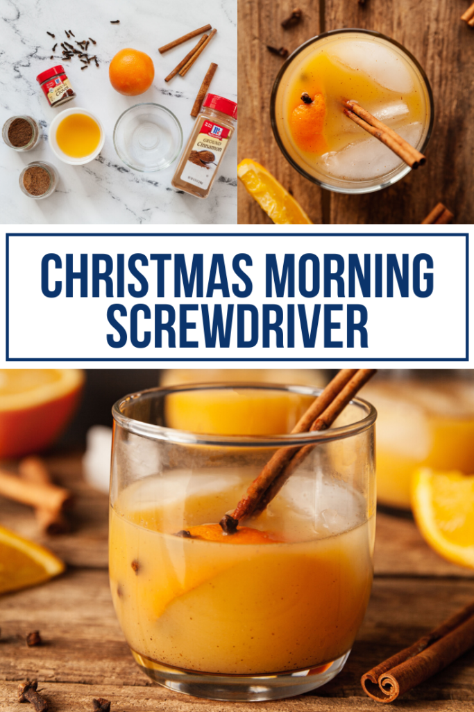 christmas morning screwdriver cocktail