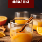 spiced vodka orange juice