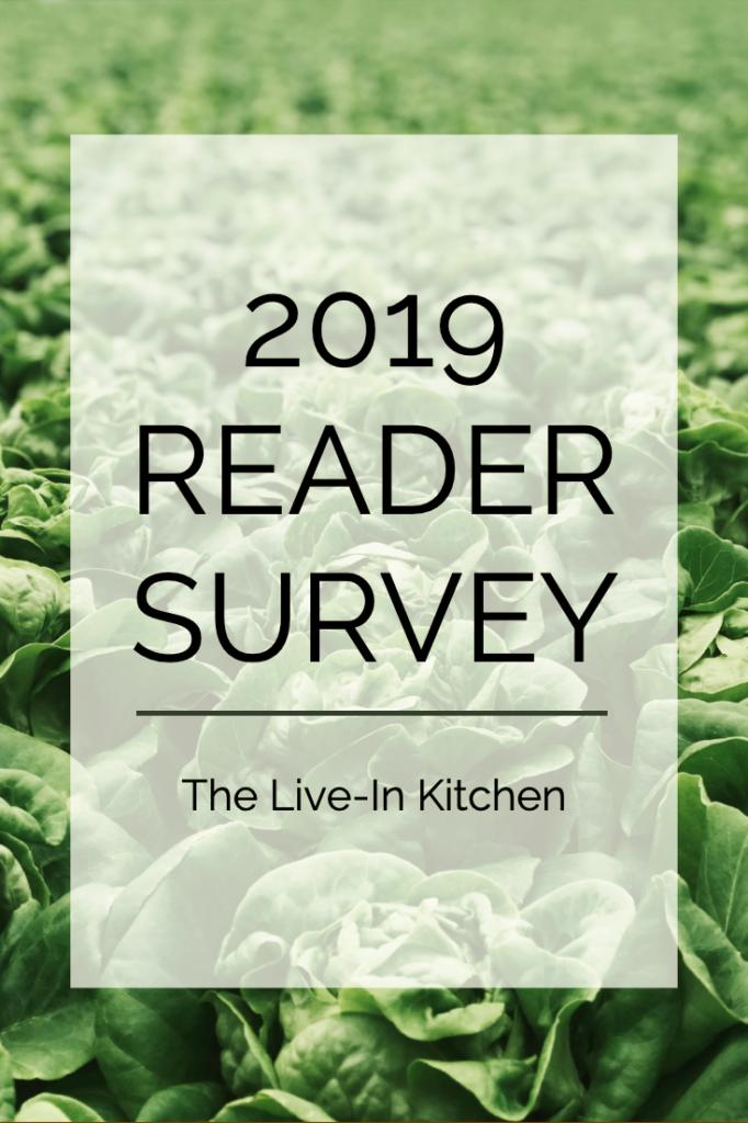 2019 reader survey