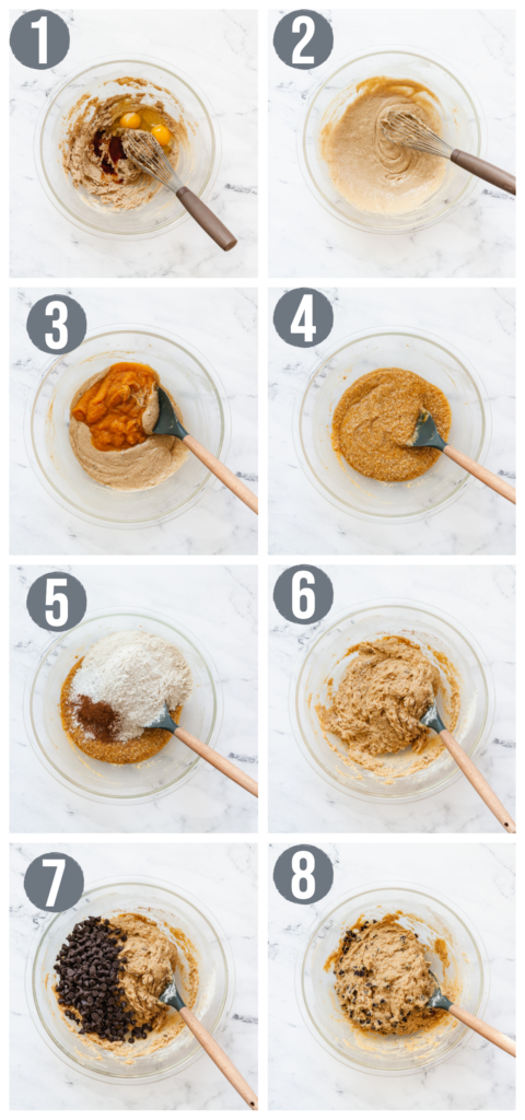 step by step photos for how to make butternut squash snack cake