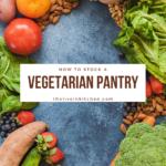 vegetables on a blue background