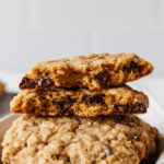 featured image of oatmeal chocolate chip cookies