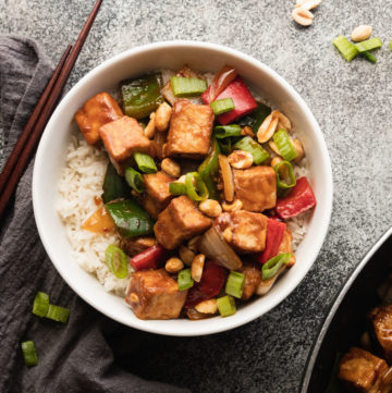 featured image of kung pao tofu