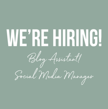 we're hiring blog assistant and social media manager